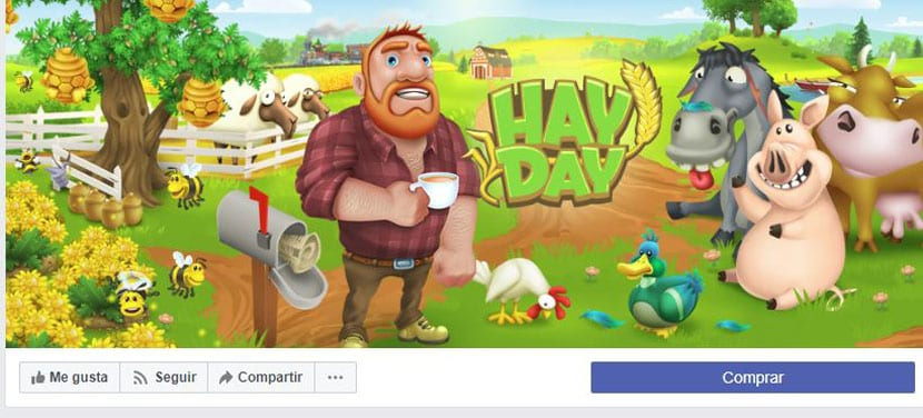 pagina de facebook de hay day