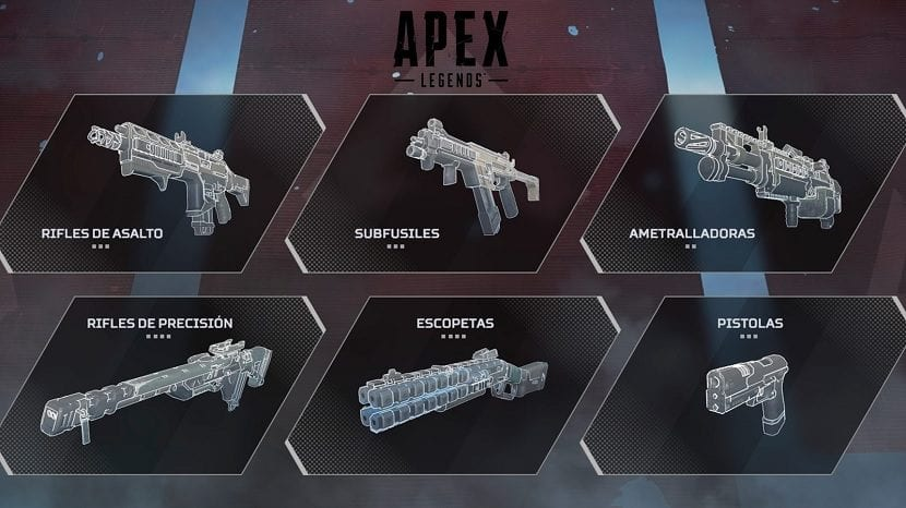 Apex Legends armas