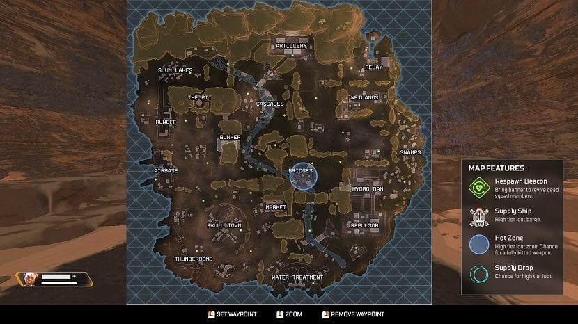 Mapa Apex Legends