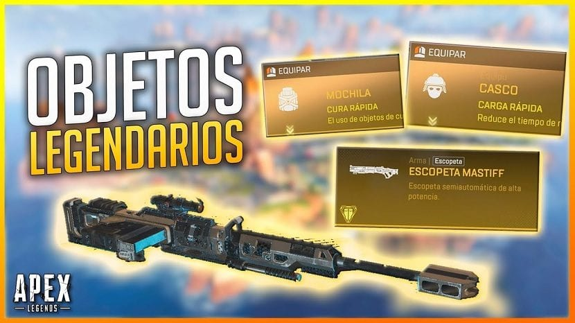 Objetos legendarios Apex Legends