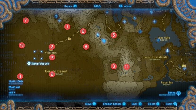 Cañon mapa santuarios