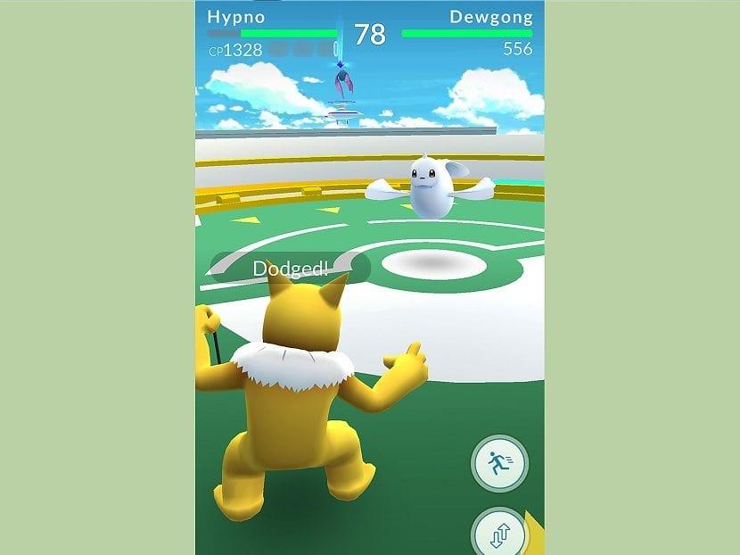 Pokemon Go combate