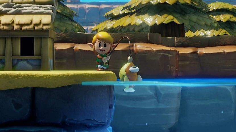 The Legend of Zelda Link's Awakening pescar