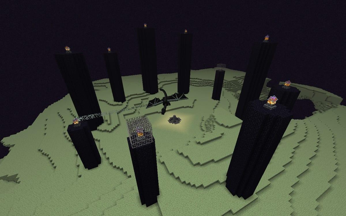 Minecraft End