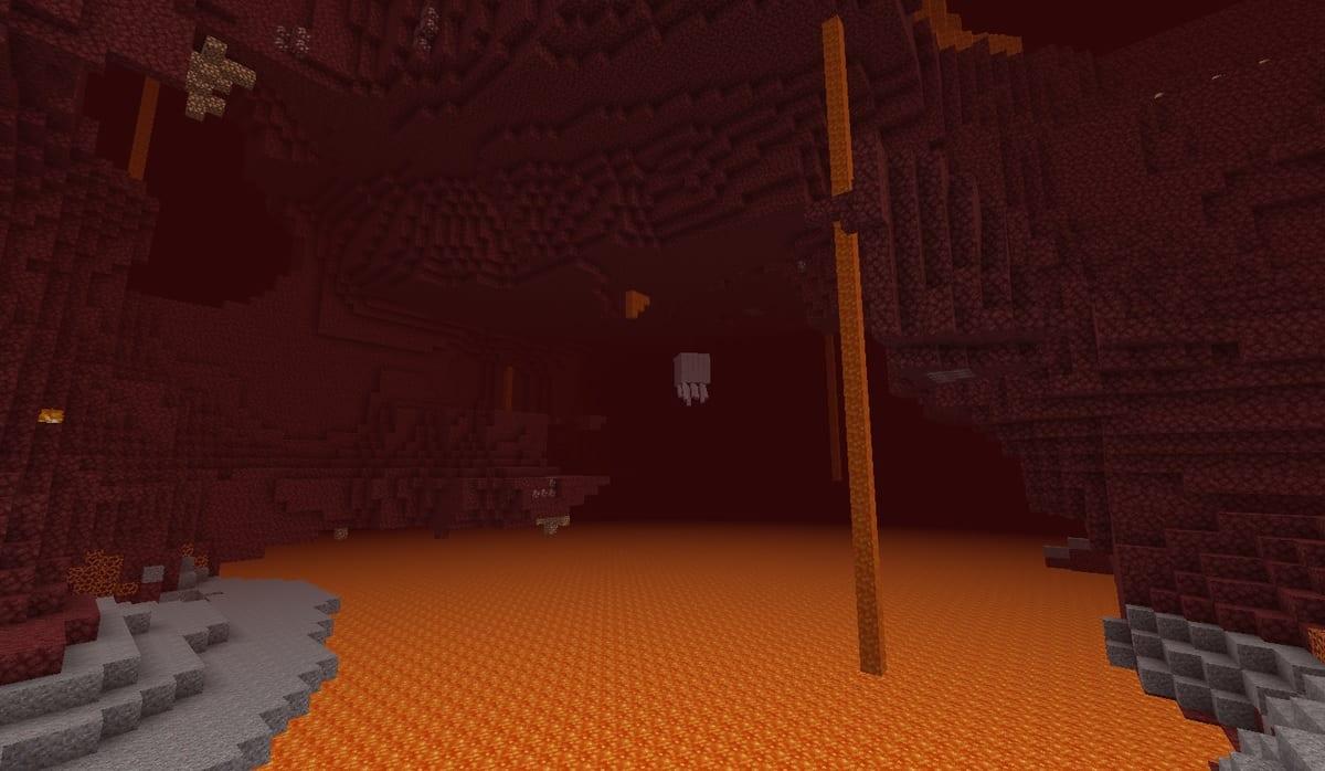Nether mundo Minecraft