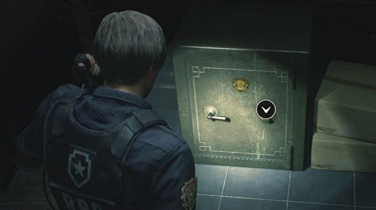 Resident Evil 2 Remake caja fuerte