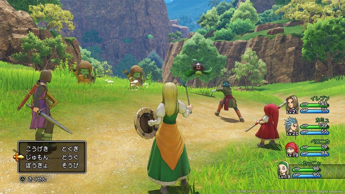 Combates Dragon Quest XI