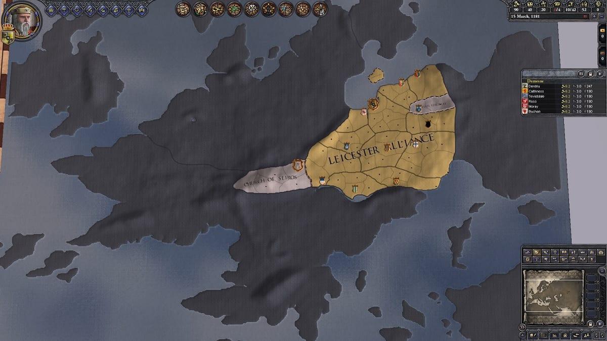 Crusader Kings 2 estrategia