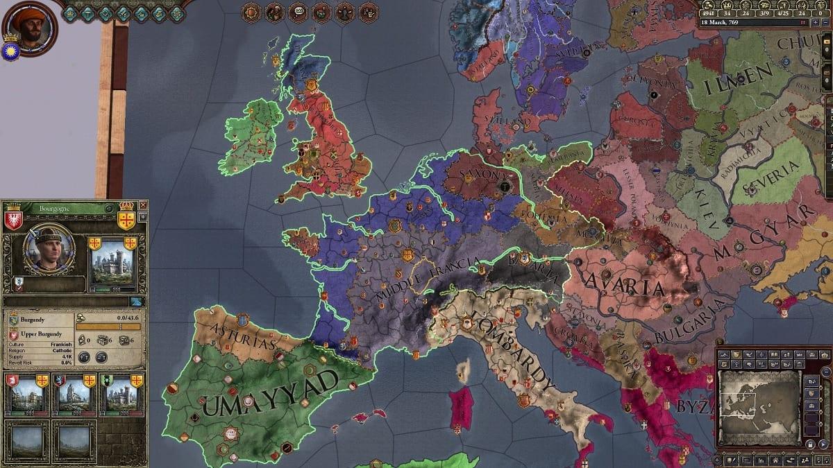 Crusader Kings 2 comandos