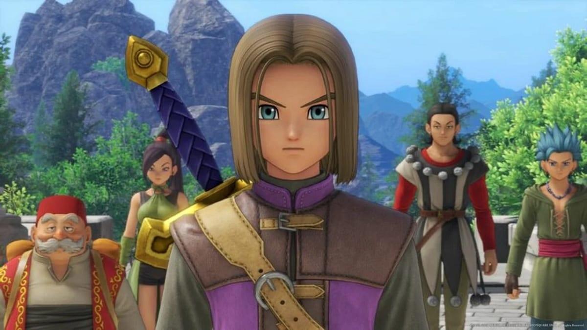 Dragon Quest XI personajes