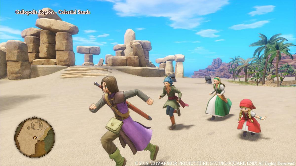 Dragon Quest XI guardar partida