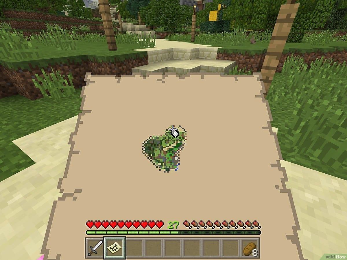 Mesa de cartografia Minecraft