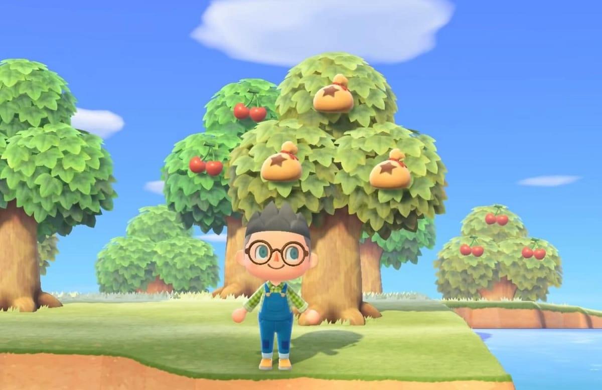Animal Crossing New Horizons arbol del dinero