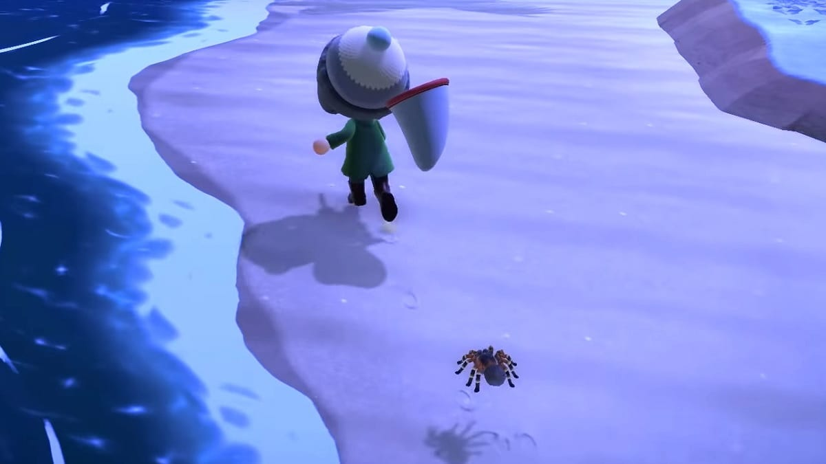 Animal Crossing New Horizons tarantulas