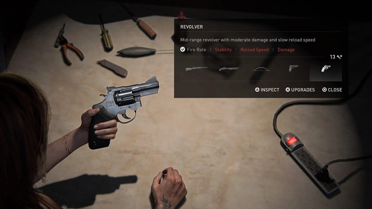 The Last of Us 2 arma