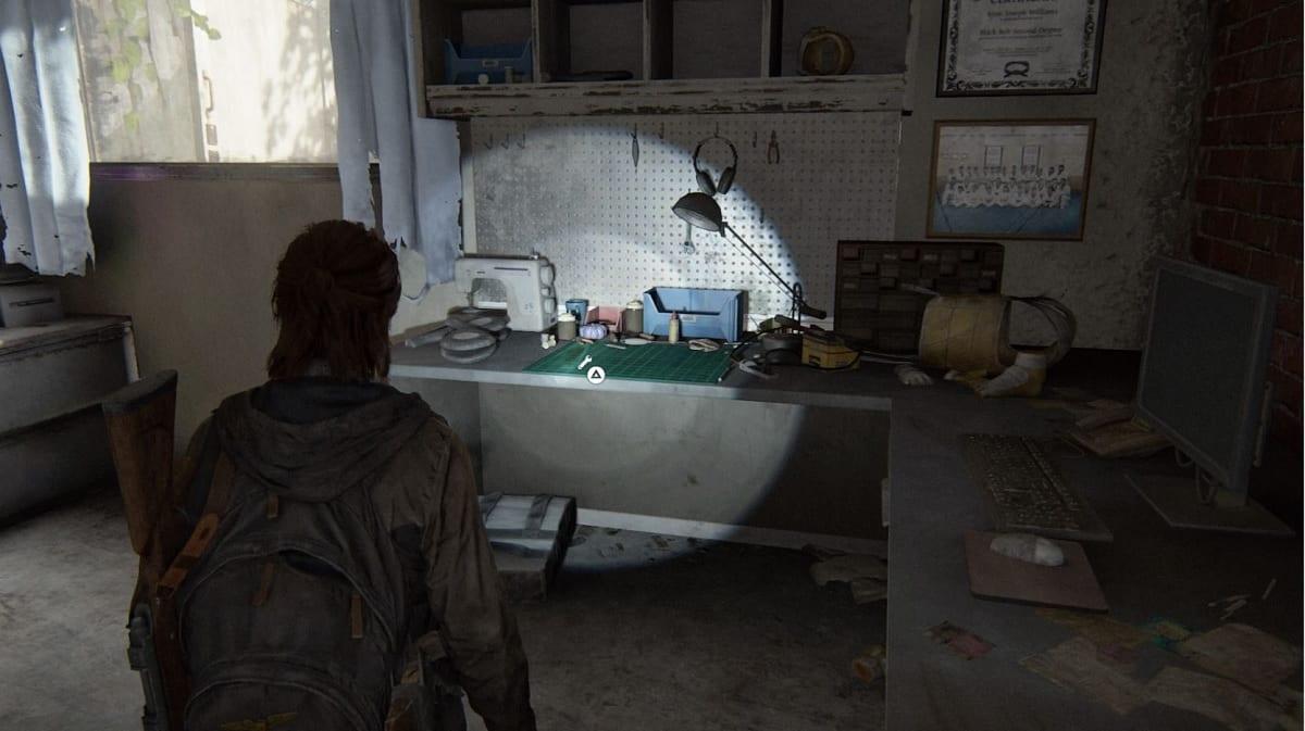 The Last of Us 2 mesa de trabajo