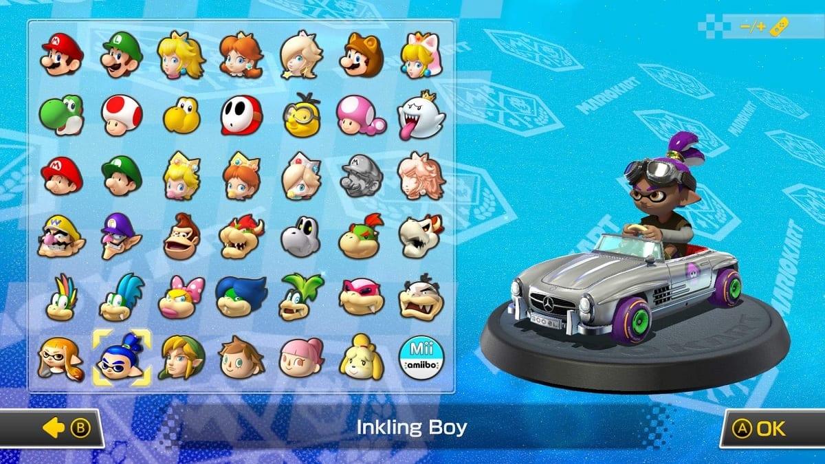 Mario Kart 8 Deluxe combinaciones