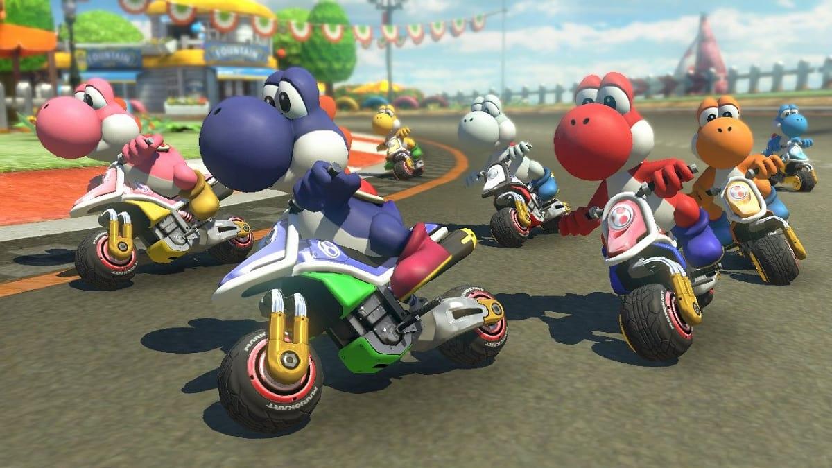 Mario Kart 8 Deluxe motos