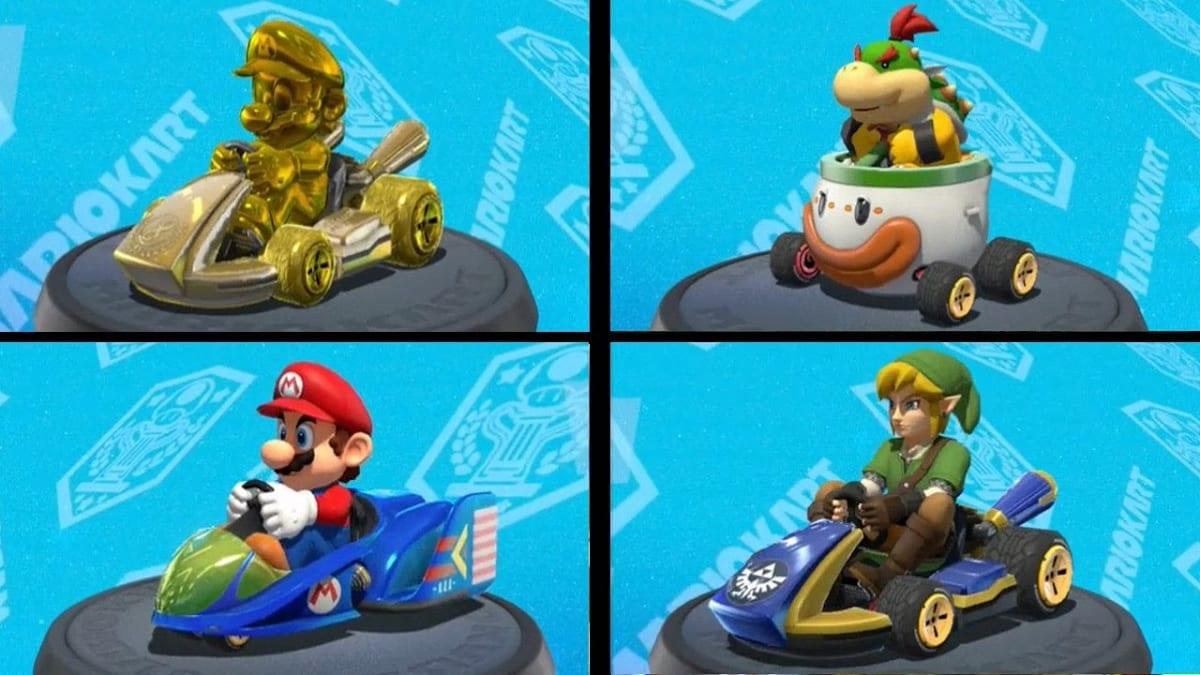 Mario Kart 8 Deluxe vehiculos