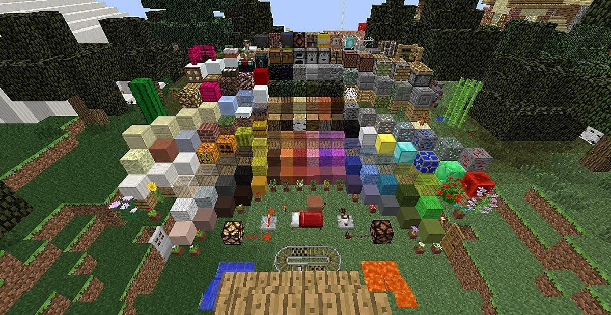 Pack de textura Minecraft