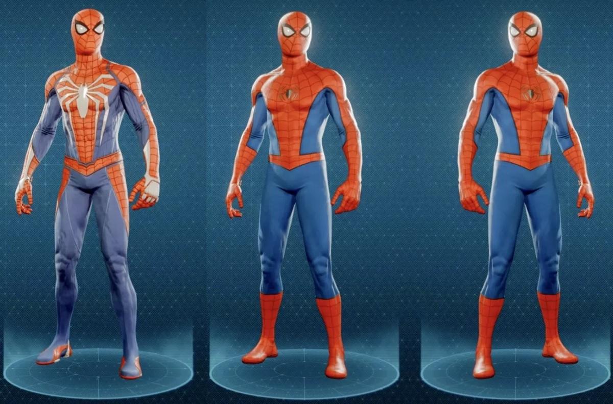 SpiderMan trajes clasicos