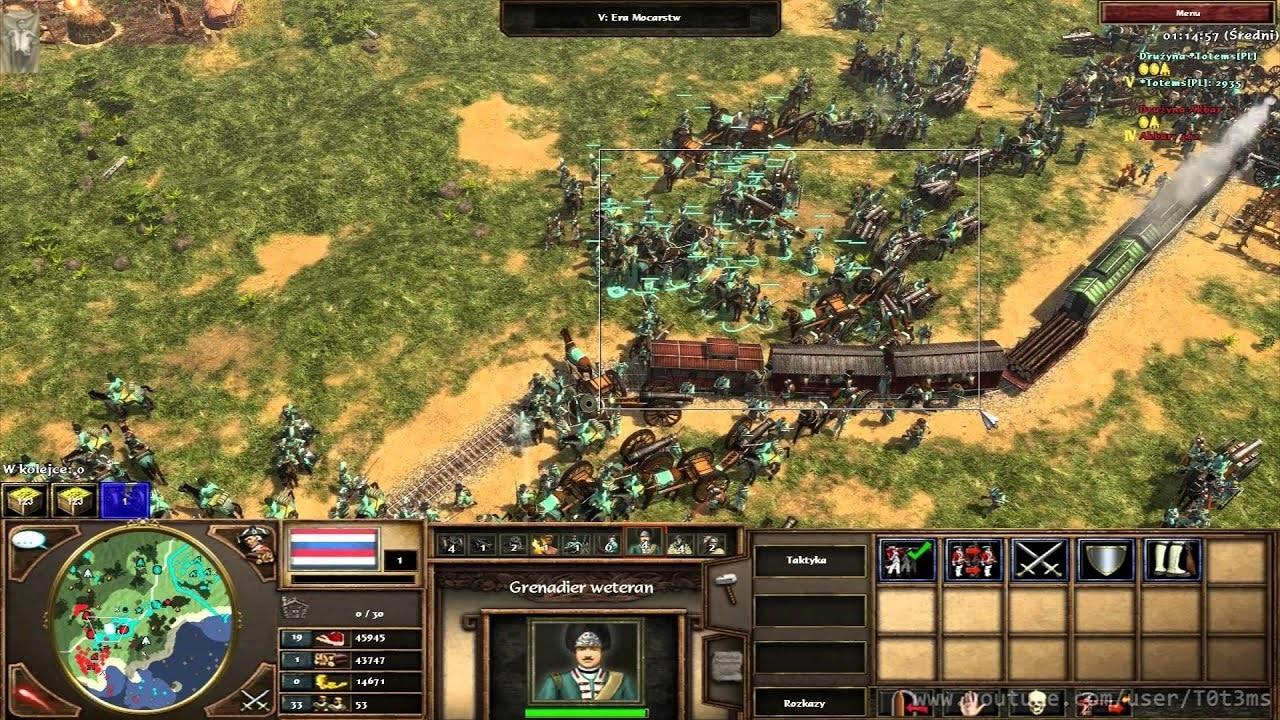 Age of Empires 3 poblacion ilimitada