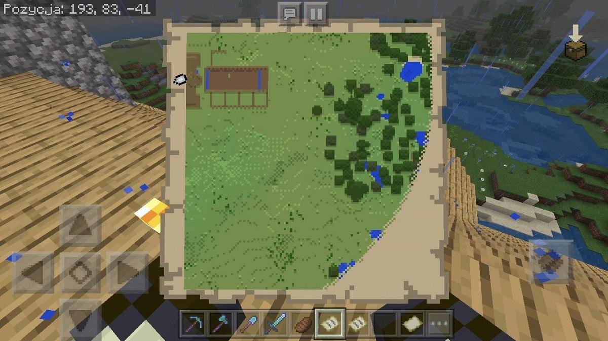 Usos del Minecraft mapa