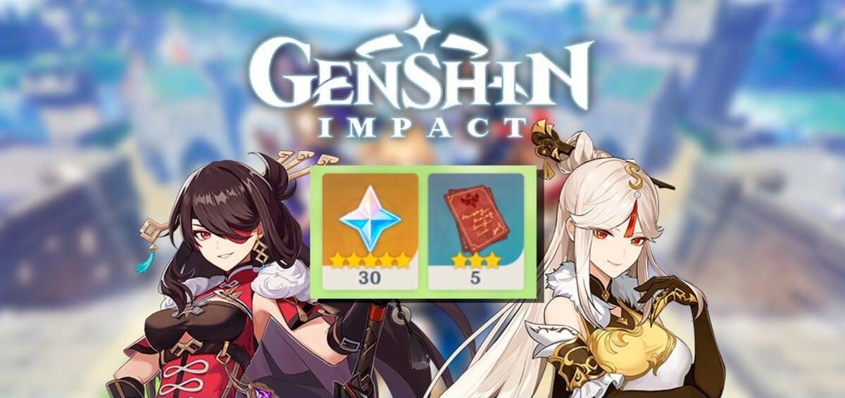 Genshin Impact protogemas