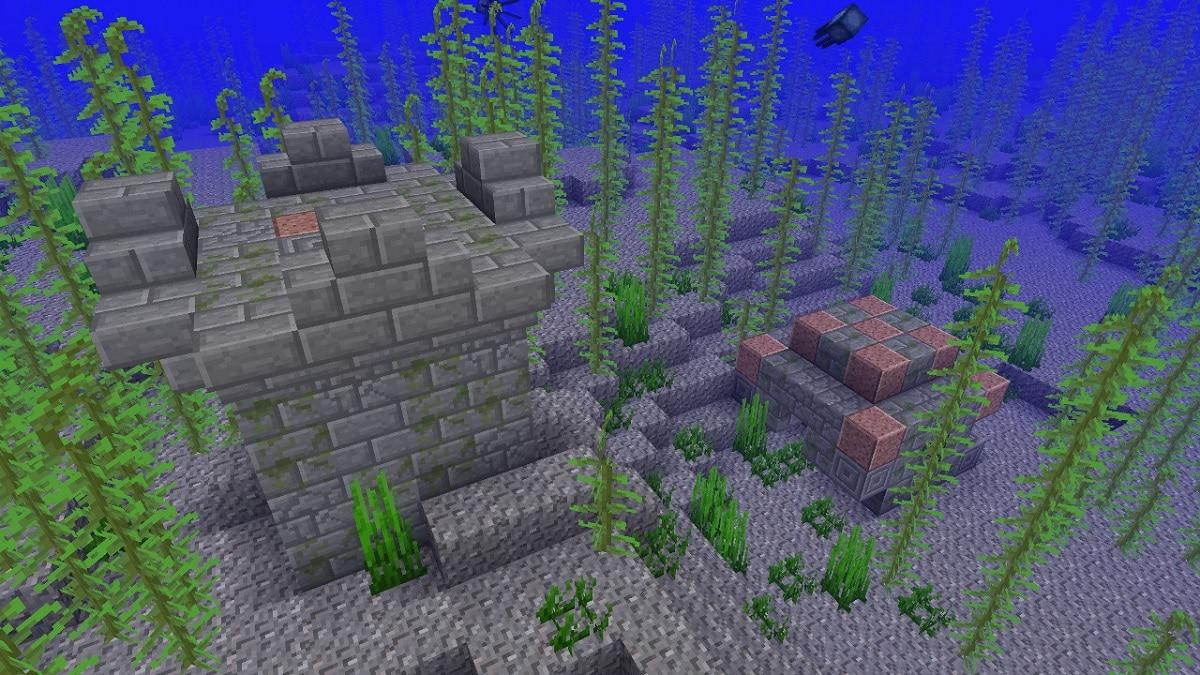 Minecraft respirar bajo el agua