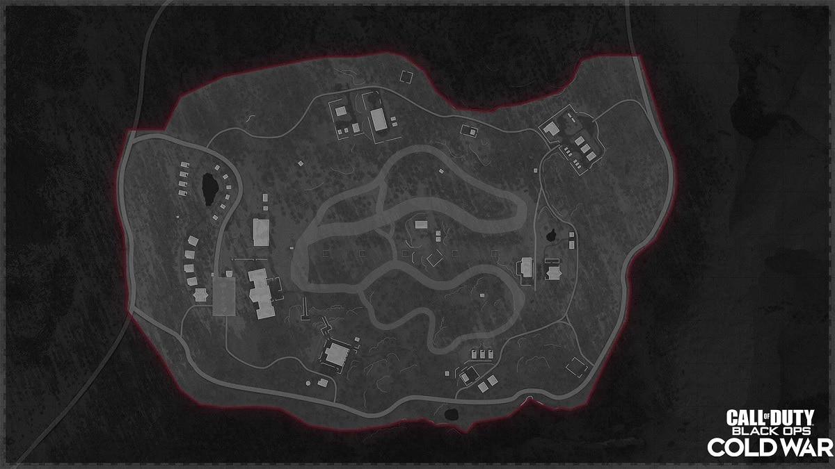 Call of Duty Cold War mapas