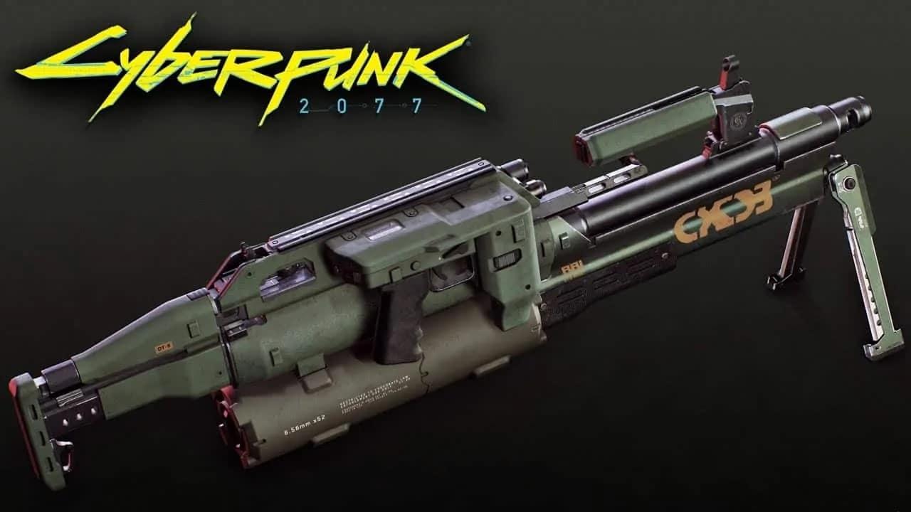 Armas Cyberpunk 2077