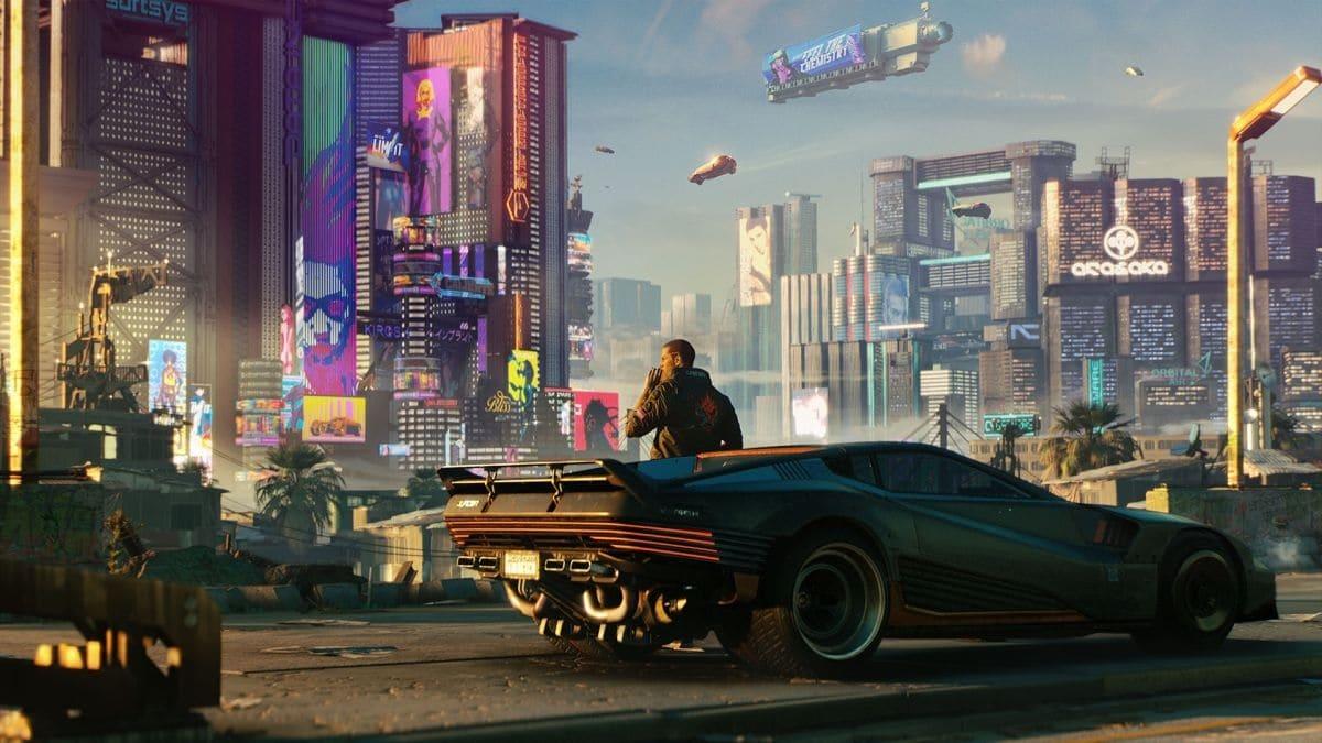 Cyberpunk 2077 coches