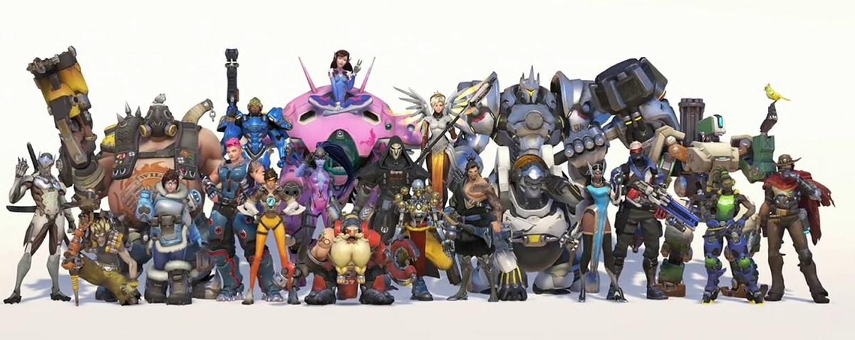 Personajes Overwatch