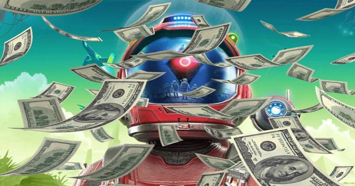No Man's Sky dinero