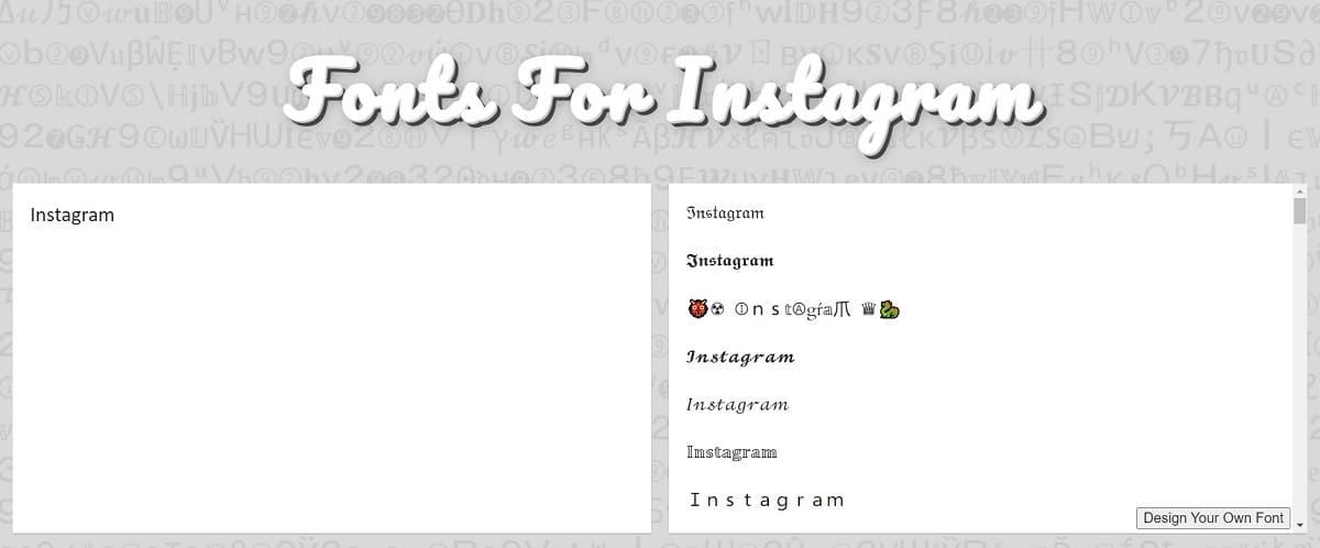 LingoJam fuentes Instagram