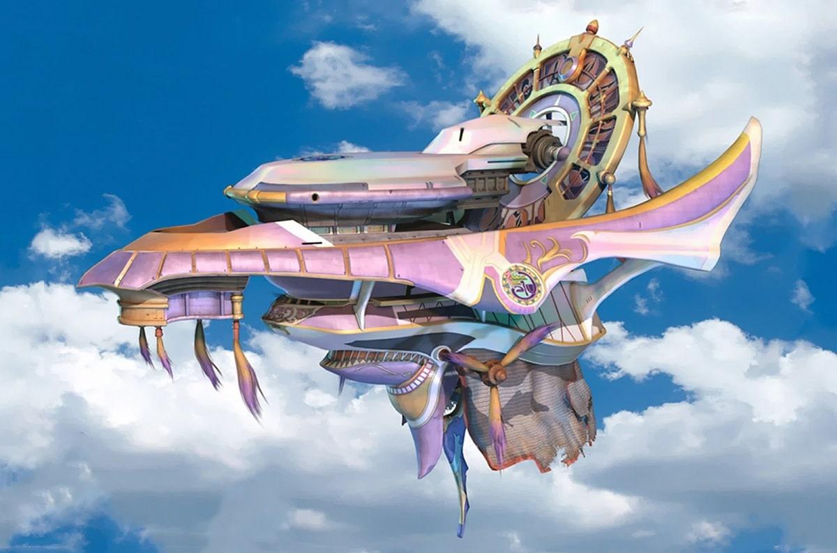 Nave Fahrenheit Final Fantasy X
