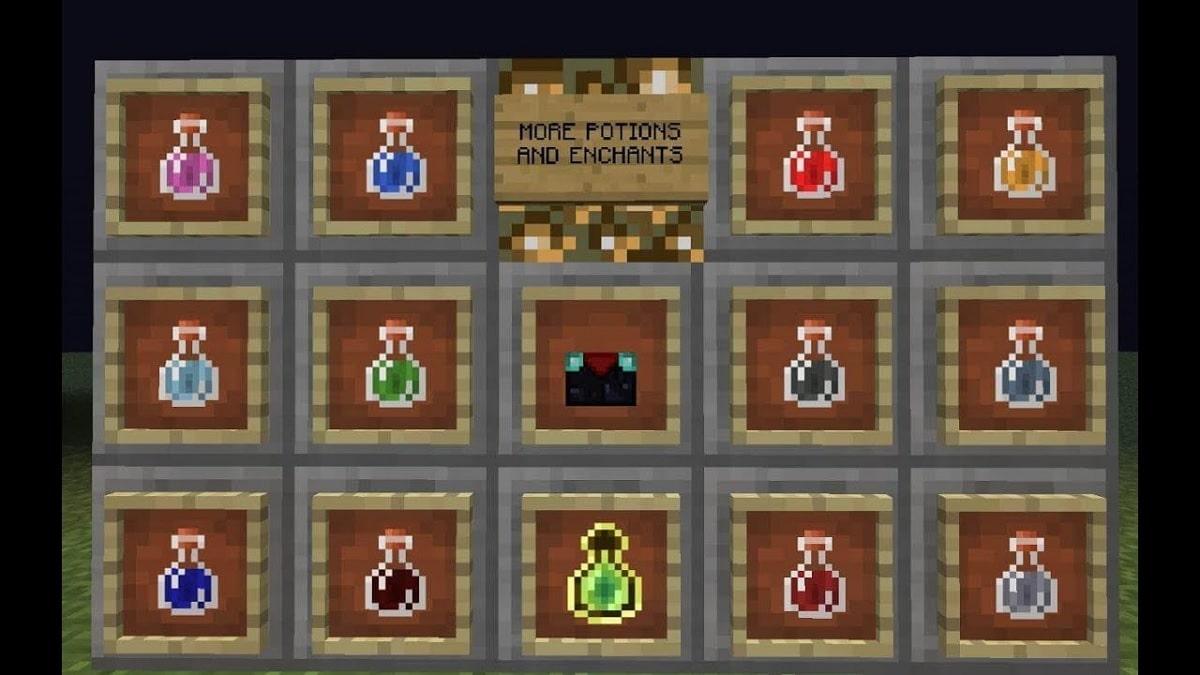 Pocion de debilidad Minecraft