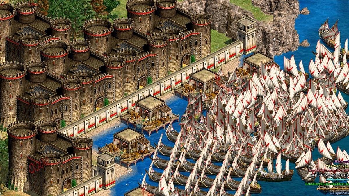 Age of Empires 2 defensa