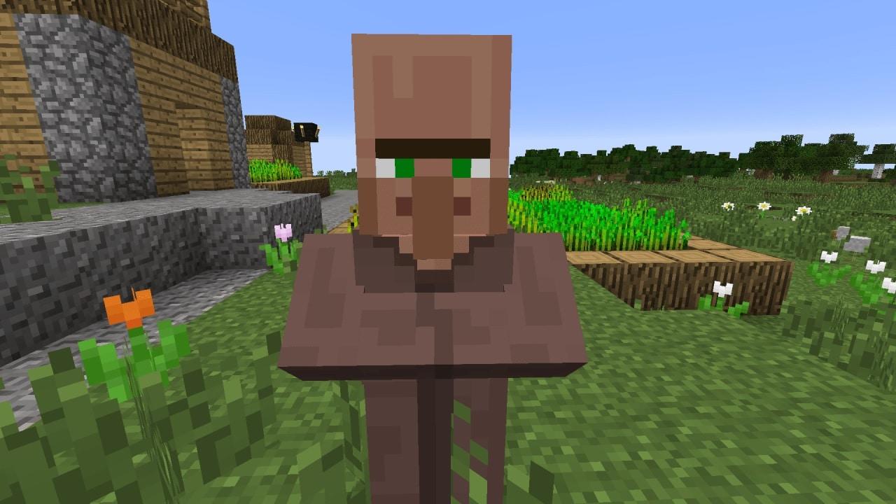 Aldeano Minecraft