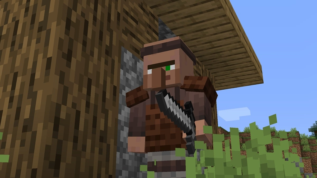 Aldeanos Minecraft