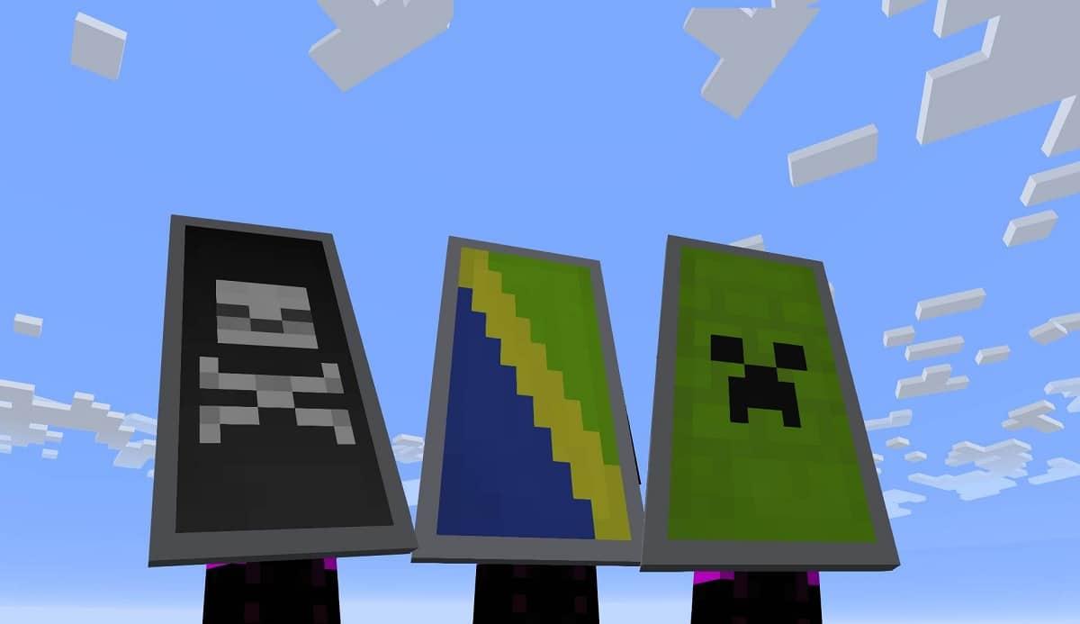 Escudos en Minecraft