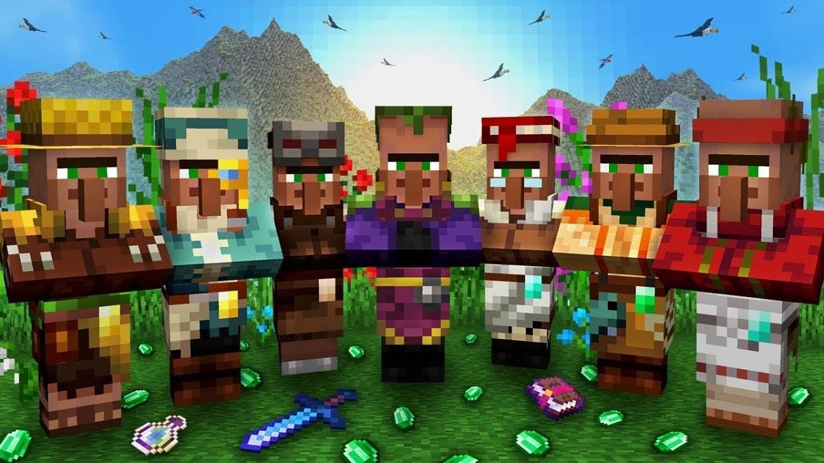 Minecraft aldeanos