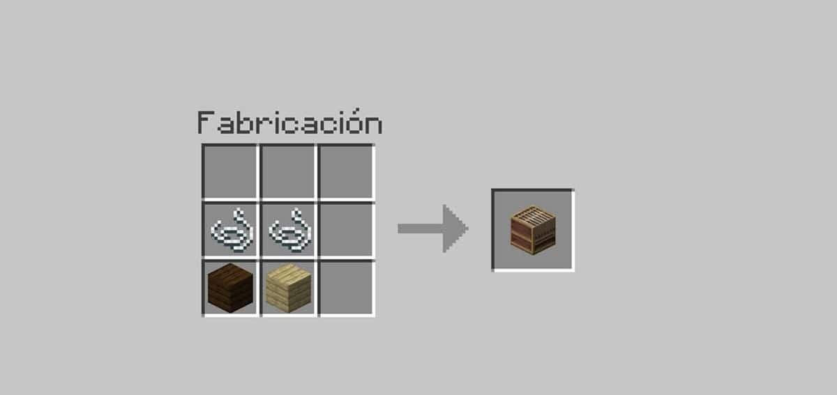 Telar en Minecraft