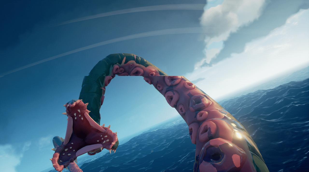 Kraken Sea of Thieves tentaculos