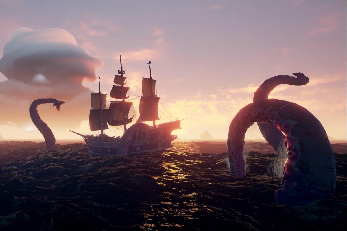 Kraken Sea of Thieves